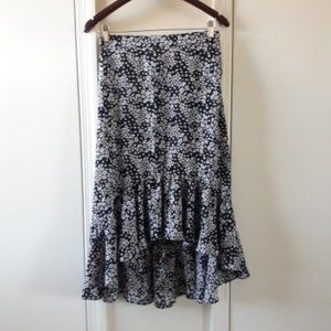 H&M Floral Skirt Size10